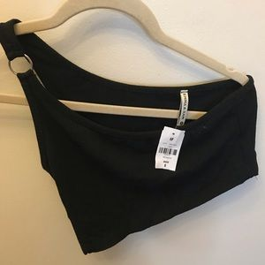 lf one shoulder top!!